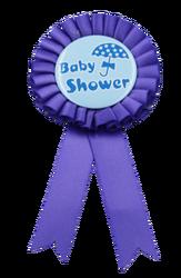 - Rozet Baby Shower Mavi Şemsiyeli Model