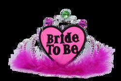 - Taç Bride To Be Plastik Tüylü