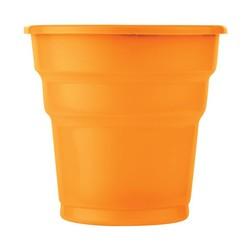 - Turuncu Plastik Meşrubat Bardağı 25 'li