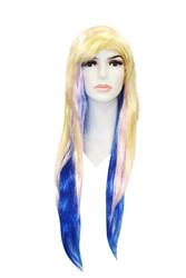 - Uzun Saç Peruk Renkli