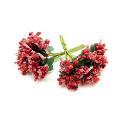 - Yapay Çiçek Cipso Pıtırcık Kırmızı 12 Dal 144 'lü