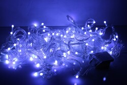 - Yılbaşı Işığı Led Atetat Kutulu Lüks Beyaz 10 Metre Fonksiyonlu Eklemeli