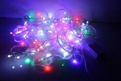 - Yılbaşı Işığı Led Atetat Kutulu Lüks RGB 10 Metre Fonksiyonlu Eklemeli Şeffaf Kablo